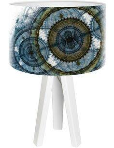 Lampe de chevet Mandala Multicolore