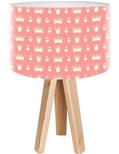 Lampe de chevet kids Rose