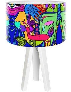 Lampe de chevet Impresio Multicolore