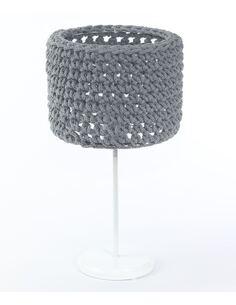 Lampe de table Sploty Gris