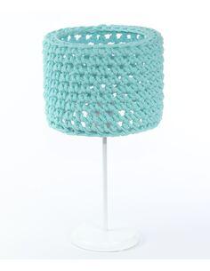 Lampe de table Sploty Bleu