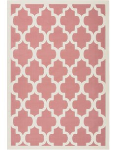 Tapis MANOLYA 2097 Rose Ivoire