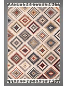 Tapis KILIM 097 kilim Rectangulaire Multicolore