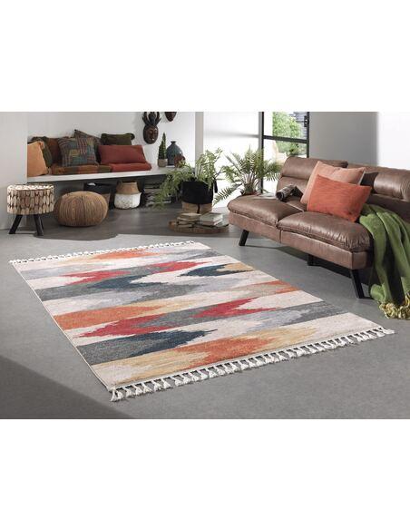 Tapis KILIM 139 kilim Rectangulaire Multicolore