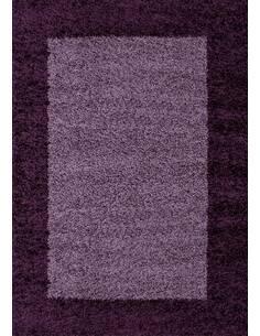 Tapis Life shaggy shaggy motifs Rectangulaire Violet
