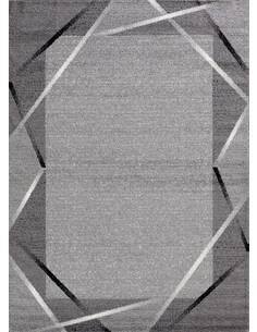 Tapis SANTANA 76 moderne Rectangulaire Gris