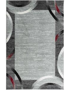 Tapis SANTANA 76 moderne Rectangulaire Rouge