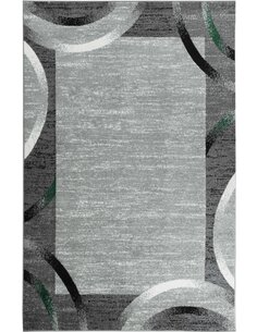 Tapis SANTANA 76 moderne Rectangulaire Vert