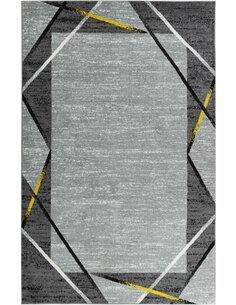 Tapis SANTANA 77 moderne Rectangulaire Jaune