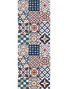 Tapis Utopia 250 carreaux de ciment  Rectangulaire Multicolore