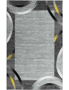Tapis SANTANA 76 moderne Rectangulaire Jaune