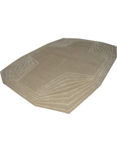 Tapis DODECA THOMAS KING Beige