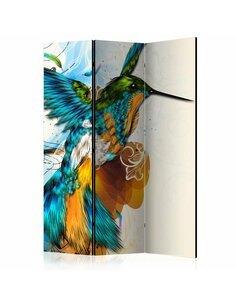 Paravent 3 volets BIRD'S MUSIC    Artgeist  