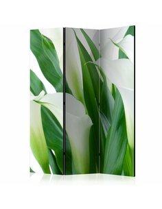 Paravent 3 volets BUNCH OF FLOWERS callas  | Artgeist |