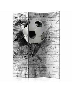 Paravent 3 volets DYNAMIC FOOTBALL  | Artgeist |