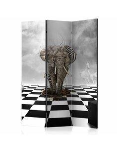 Paravent 3 volets ESCAPE FROM AFRICA  | Artgeist |