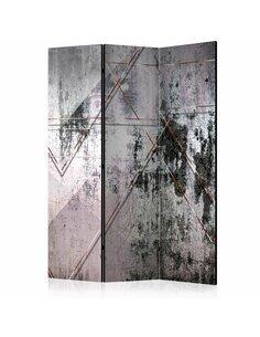 Paravent 3 volets GEOMETRIC WALL  | Artgeist |