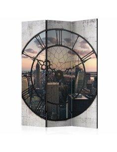 Paravent 3 volets NYC TIME ZONE  | Artgeist |