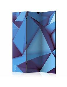 Paravent 3 volets ROYAL BLUE  | Artgeist |
