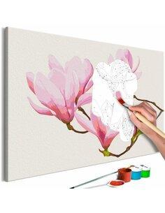 Tableau à peindre FLORAL TWIG  | Artgeist |