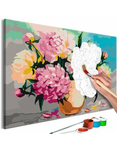 Tableau à peindre FLOWERS IN VASE  | Artgeist |