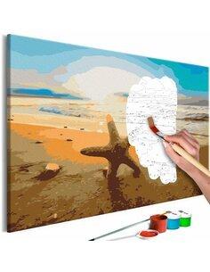 Tableau à peindre SEA FINDS  | Artgeist |