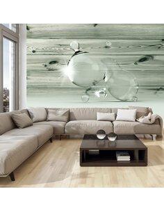 Papier peint BEAUTY IN DROPS OF WATER