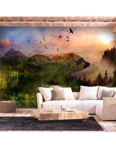 Papier peint BEAR IN THE MOUNTAIN