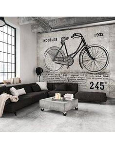 Papier peint BICYCLE VINTAGE