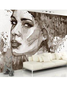 Papier peint BLACK LADY