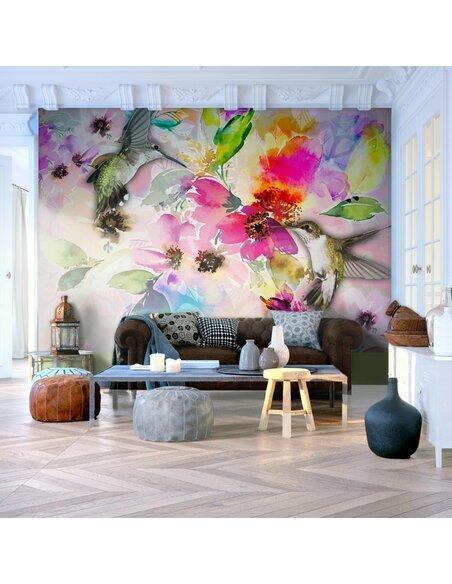 papier peint colours of nature artgeist. Black Bedroom Furniture Sets. Home Design Ideas
