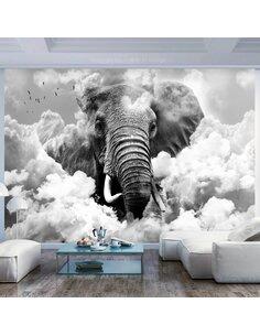 Papier peint ELEPHANT IN THE CLOUDS