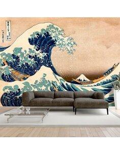 Papier peint HOKUSAI THE GREAT WAVE OFF KANAGAWA