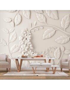 Papier peint PAPER FLOWERS BEIGE