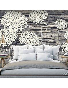 Papier peint STONES FLOWERS