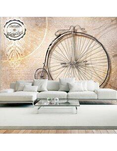 Papier peint VINTAGE BICYCLES sepia