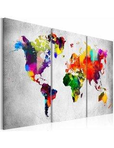 Tableau ARTISTIC WORLD 3 parties
