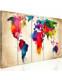 Tableau BRIGHT CONTINENTS