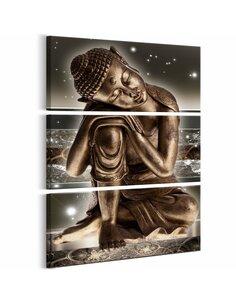 Tableau BUDDHA AT NIGHT