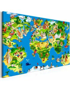 Tableau CHILDREN'S MAP WIDE