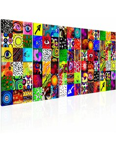 Tableau COLOURFUL ABSTRACTION