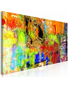 Tableau COLOURFUL ABSTRACTION NARROW