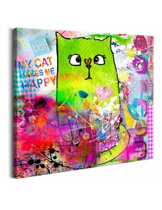 Tableau CRAZY CAT