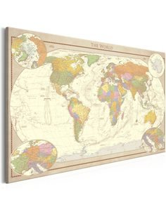 Tableau CREAM WORLD MAP