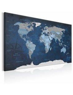 Tableau DARK BLUE WORLD