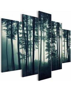 Tableau DARK FOREST WIDE