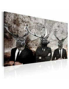 Tableau DEER IN SUITS