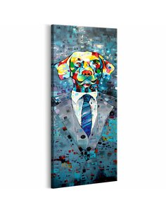 Tableau DOG IN A SUIT