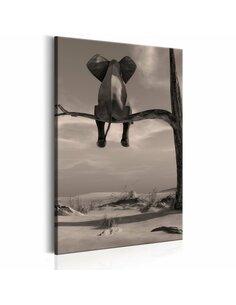 Tableau ELEPHANT IN THE DESERT