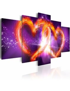 Tableau FLAMES OF LOVE